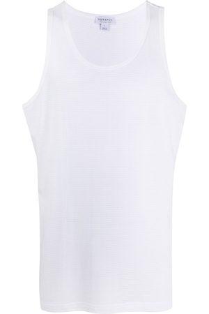 Sunspel Men Tank Tops - Scoop neck sleeveless top