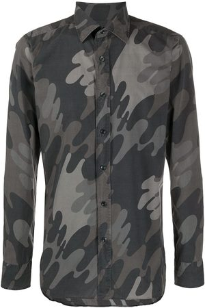 Tom Ford Camouflage-print shirt