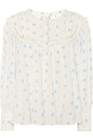 LOVESHACKFANCY Exclusive to Mytheresa – Dionne floral cotton blouse