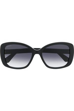 Gucci Double G square-frame sunglasses