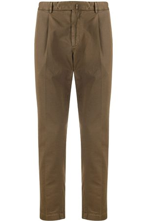 DELL'OGLIO Slim-fit chinos