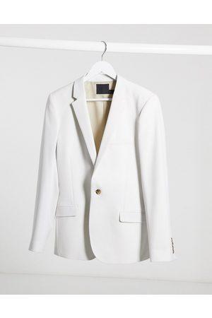 ASOS Men Blazers - Wedding super skinny suit jacket in ice