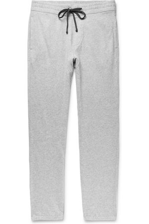 James Perse Men Trousers - Loopback Supima Cotton-Jersey Sweatpants