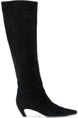 Khaite Pointed toe knee-length boots