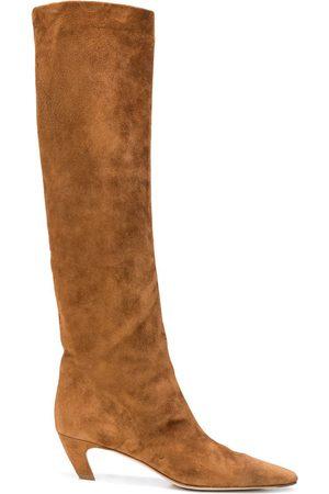 Khaite David knee-high boots