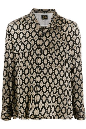 Pins & Needles Long sleeve baroque print shirt