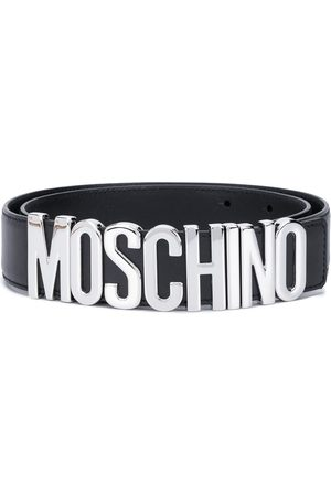 Moschino Logo wide belt