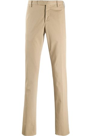 Incotex High-rise straight-leg chinos