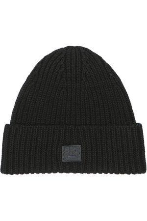Acne Studios Mini Face wool hat