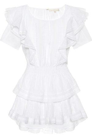 LOVESHACKFANCY Natasha cotton minidress