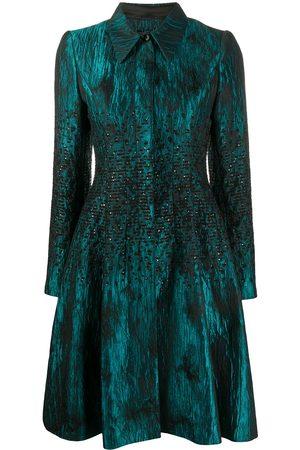 TALBOT RUNHOF Sequin jacquard coat