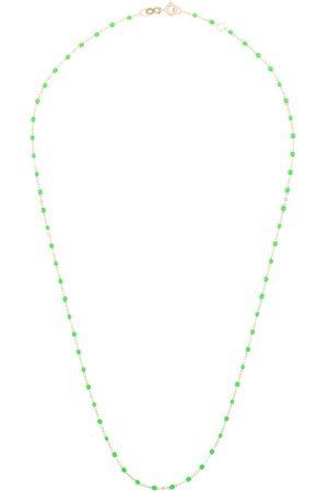 GIGI CLOZEAU 18kt neon bead necklace