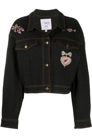 A.N.G.E.L.O. Vintage Cult 1980s bead-embroidered denim jacket