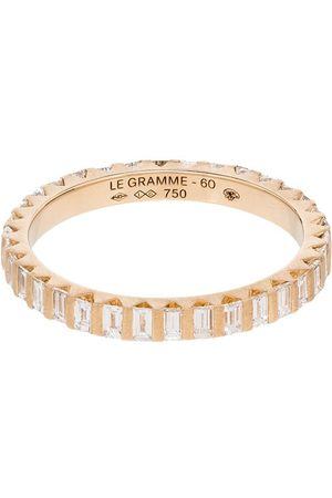 Le Gramme 18kt diamond full pave ring