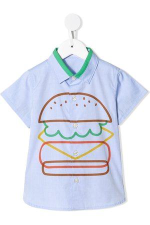 Familiar Burger print shirt