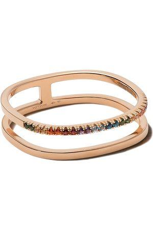 Vanrycke 18kt rose gold Charlie sapphire ring