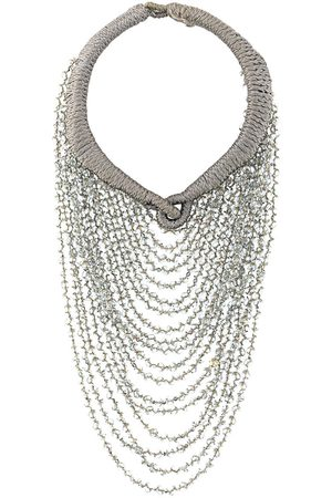 A.N.G.E.L.O. Vintage Cult 2000s beaded layered necklace