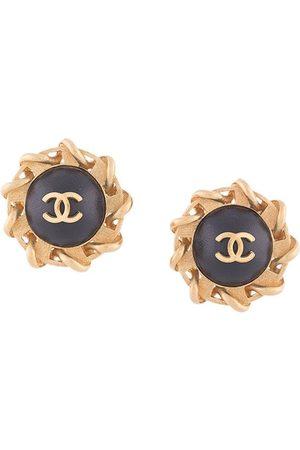 CHANEL Sun motif CC earrings