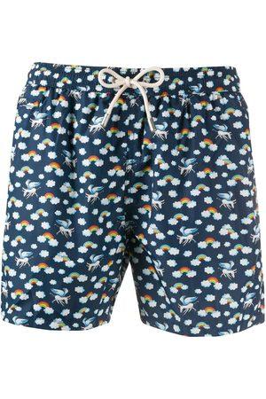 MC2 SAINT BARTH Donkey print swim shorts