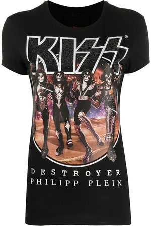 Philipp Plein Rock band T-shirt