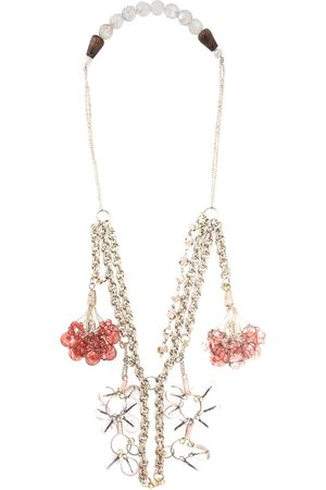 A.N.G.E.L.O. Vintage Cult 2000s dangling stones chain necklace