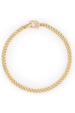 Shay 18kt yellow pavé diamond 7.5 inch link bracelet