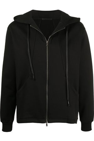 THE VIRIDI-ANNE Zip-up cotton hoodie