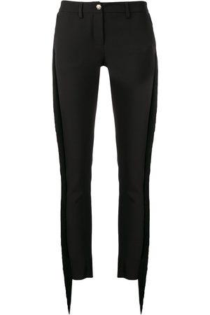 Philipp Plein Fringed slim fit trousers