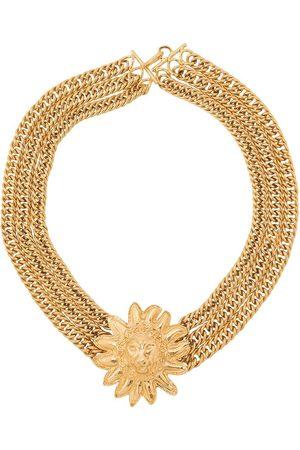 CHANEL 1985'S lion head necklace