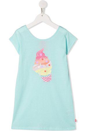 Billieblush Ice-cream print glitter detail dress
