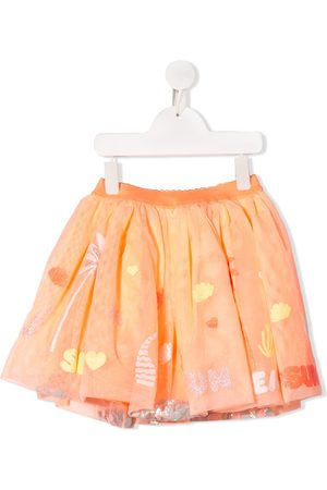 Billieblush Embroidered floral skirt