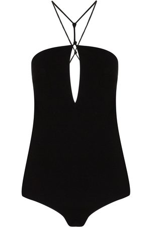 Bottega Veneta Halterneck cut-out bodysuit
