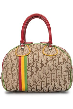 Dior 2004 pre-owned Trotter Rasta bowling bag