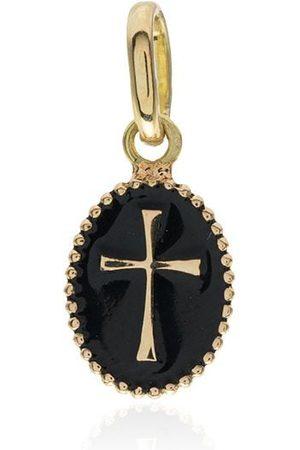 GIGI CLOZEAU 18kt yellow gold cross charm