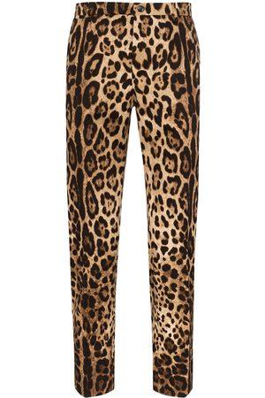 Dolce & Gabbana Leopard-print trousers