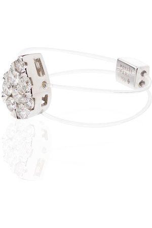 PERSÉE 18kt Imagine floating diamond ring
