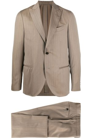 DELL'OGLIO Pinstriped two-piece suit