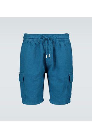 Vilebrequin Baie cargo linen shorts