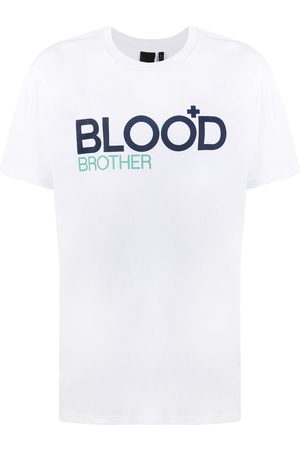 Blood Brother Men Short Sleeve - Trademark logo T-Shirt