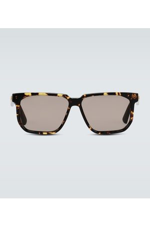 Bottega Veneta Square frame acetate glasses