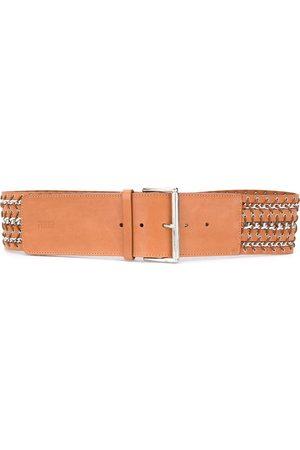 Gianfranco Ferré 1990s braided belt