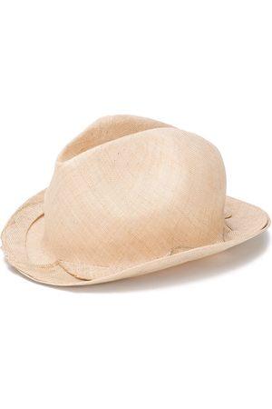 REINHARD PLANK Bonap scalloped fedora hat