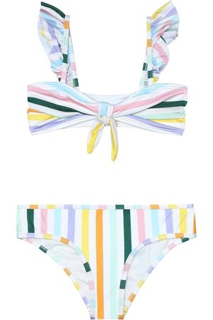 ZIMMERMANN Bellitude striped bikini