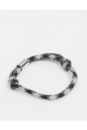 adidas Men Bracelets - Rope bracelet in and grey