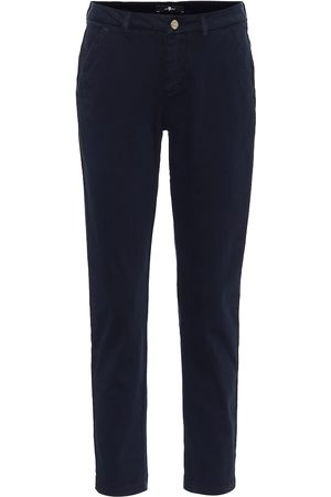 7 for all Mankind Women Chinos - Mid-rise slim chinos