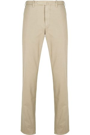 DELL'OGLIO Straight-leg chino trousers