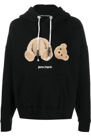 Palm Angels Teddy-print hoodie