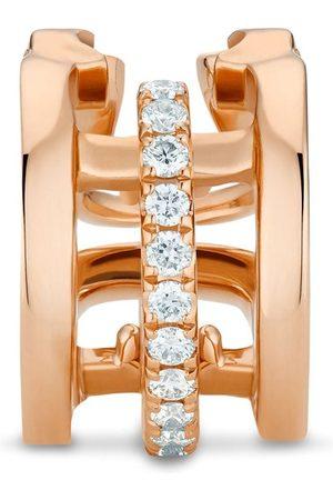 De Beers Women Earrings - 18kt rose diamond Horizon earcuff