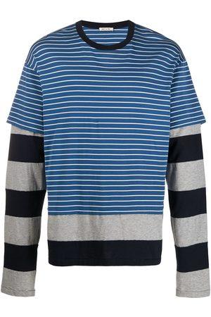 Marni Double layered striped T-shirt