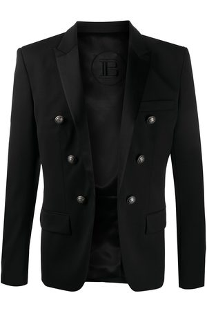 Balmain Double-breasted peaked lapels blazer